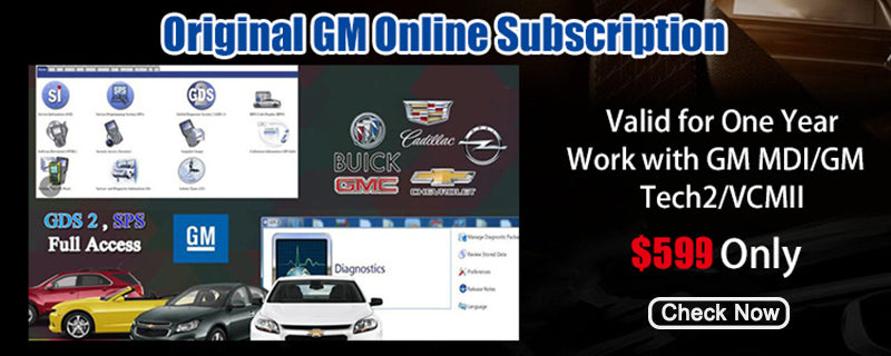 Original GM Online Subscription for One Year: