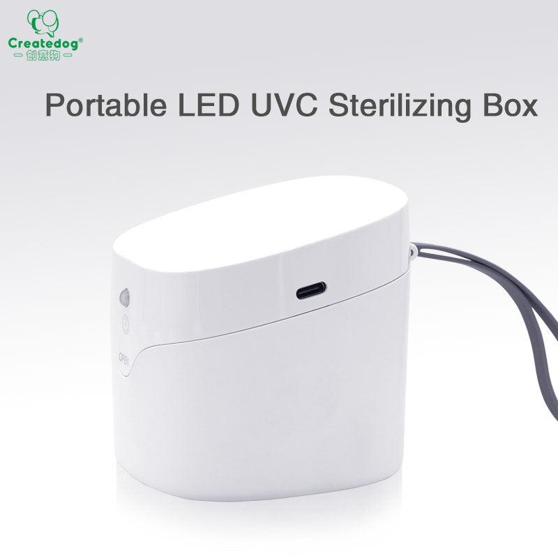 Portable UV disinfection box Mask sterilizer UVC sterilization Easy Care Box