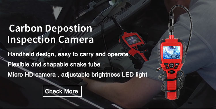 Handheld HD LED auto Borescopes endoscope with inspection camera