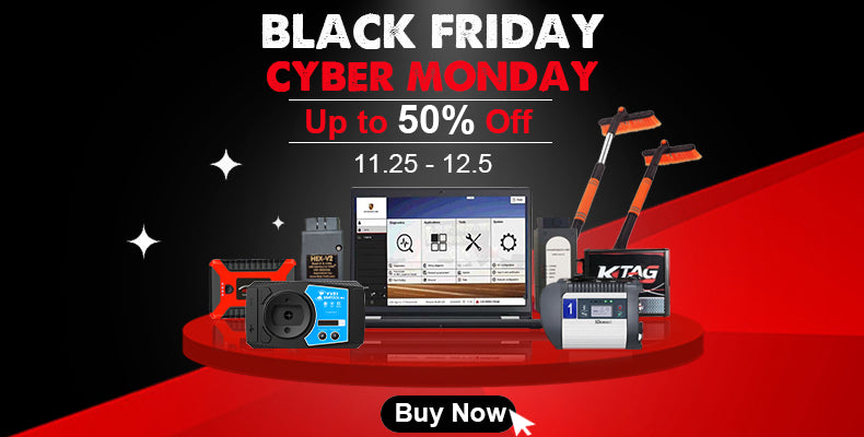 Black Friday Cyber Monday Sales in VXDAS