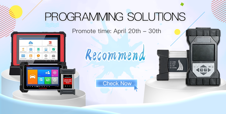 Programming Solutions Recommend in VXDAS