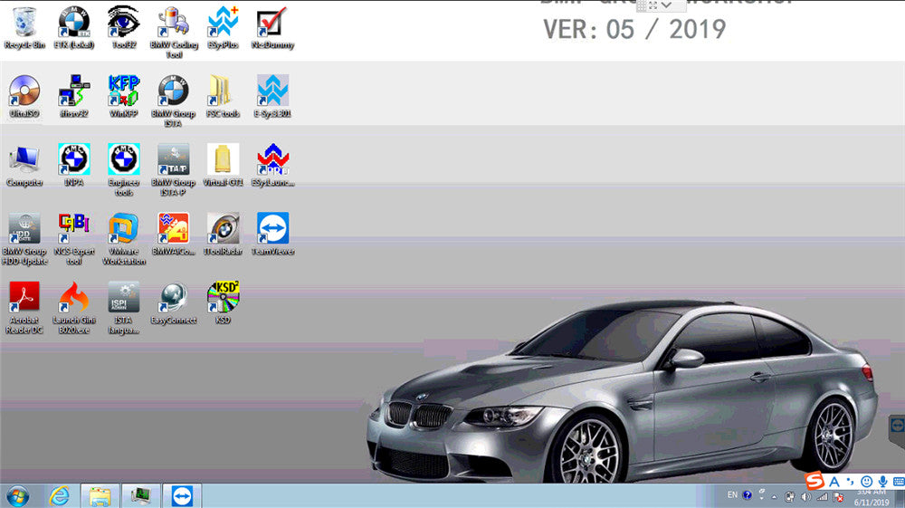 BMW icom software 2019.05v