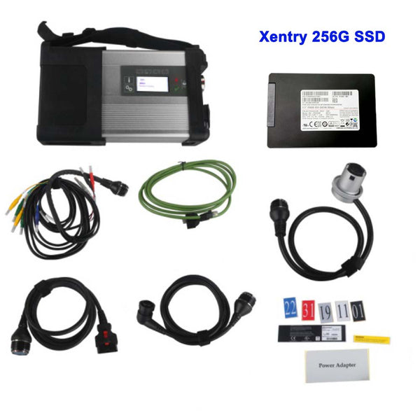 Wifi MB SD C5 Connect Star Diagnosis with Benz Software HDD/SSD for Cars and Trucks Multi-Language - VXDAS Official Store