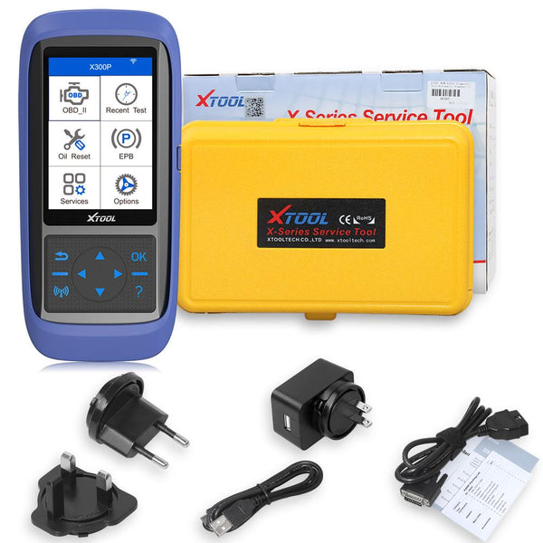 XTOOL X300P Diagnostic & Reset Tool with 16 Special Functions Update Online - VXDAS Official Store