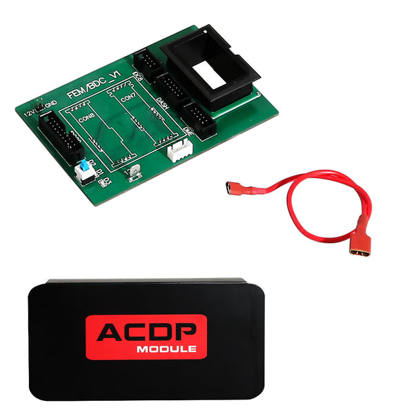 Yanhua Mini ACDP Module 2 BMW FEM/BDC Support IMMO Key Programming, Odometer Reset, Module Recovery, Data Backup - VXDAS Official Store