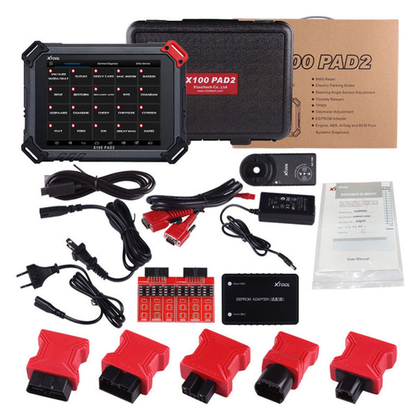 XTOOL X-100 PAD2 Tablet Key Programmer Special Functions Expert Update Version Of X100 PAD - VXDAS Official Store