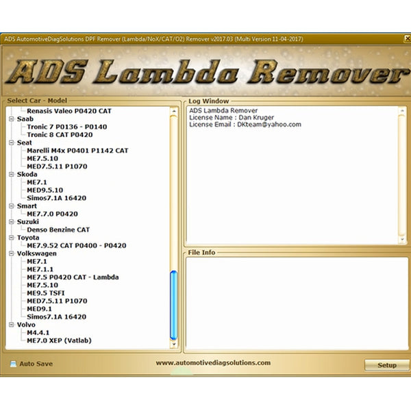 Professionale DPF+EGR REMOVER 3.0 Lambda Hotstart Flap, O2, DTC 2 Software Full 2017.5 Version - VXDAS Official Store