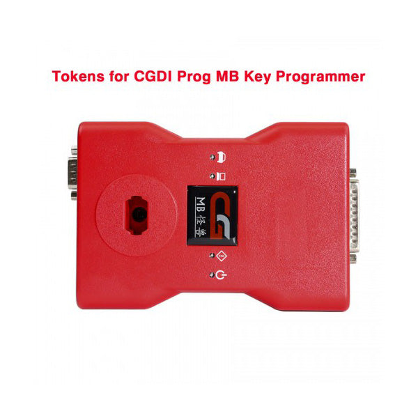 Tokens for CGDI Prog MB Benz Car Key Programmer 180 Days Period (Up to 4 Tokens Each Day) - VXDAS Official Store
