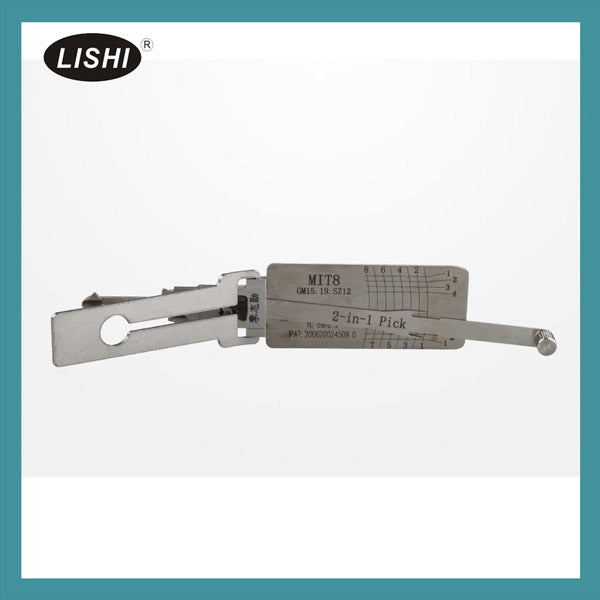 LISHI MIT8 (GM15 19) 2-in-1 Auto Pick and Decoder - VXDAS Official Store