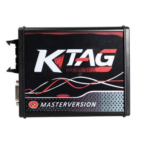 KTAG 7.020 Red PCB New 4LED EU Online Version SW V2.23 No Token Limited Support Full Protocols - VXDAS Official Store