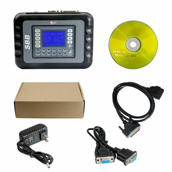 SBB Key Programmer with Latest Version V46.02 Multi-language - VXDAS Official Store