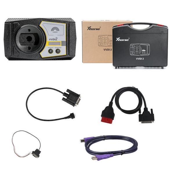 Xhorse VVDI2 Full Kit V6.6.9 with OBD48 + 96bit 48-Clone + MQB + BMW FEM/BDC - VXDAS Official Store