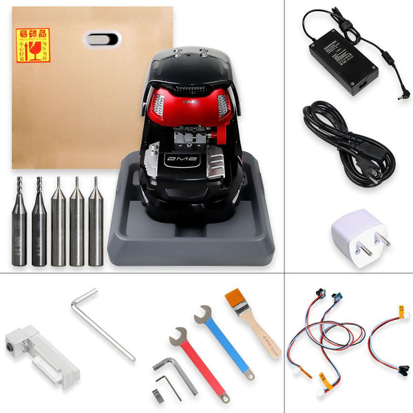 2M2 Magic Tank Automatic Car Key Cutting Machine Work on Android via Bluetooth with Database V2020.011501 - VXDAS Official Store
