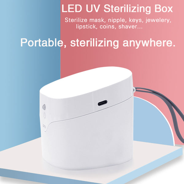 Portable UV disinfection box Mask sterilizer UVC sterilization Easy Care Box - VXDAS Official Store