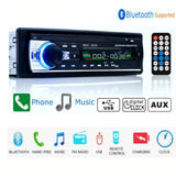 Autoradio 12V JSD-520 Car Radio Bluetooth 1 din Car Stereo Player AUX-IN MP3 FM radio Remote Control for phone Car Audio - VXDAS Official Store