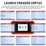 Launch X431 CRP123 Creader OBD2 Code Reader Scanner test Engine/ABS/SRS/AT Auto Diagnostic Tool - VXDAS Official Store