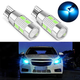 2PCS Car Styling Auto LED T10 Canbus W5W/194 10 SMD 5630 LED Parking LED Car Side Lights - VXDAS Official Store