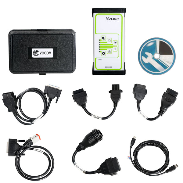 2019 Volvo 88890300 Vocom Interface PTT 2.03 Diagnose for Volvo/Renault/UD/Mack Truck - VXDAS Official Store