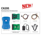 CN200 CN-200 Basic Car Maintenance Airbag, ECU and Mileage Programmer - VXDAS Official Store