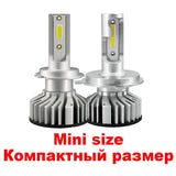 Mini Canbus H4 H7 LED Far Car Headlight Bulb Accessories with Different Colors Temperature - VXDAS Official Store