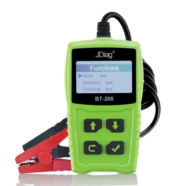 Car Battery Tester 12V 100-1700 CCA 100AH BT200 Automotive Load Battery Tester Digital Analyzer Bad Cell Test Tool VXDAS for Car/Boat/Motorcycle and More - VXDAS Official Store