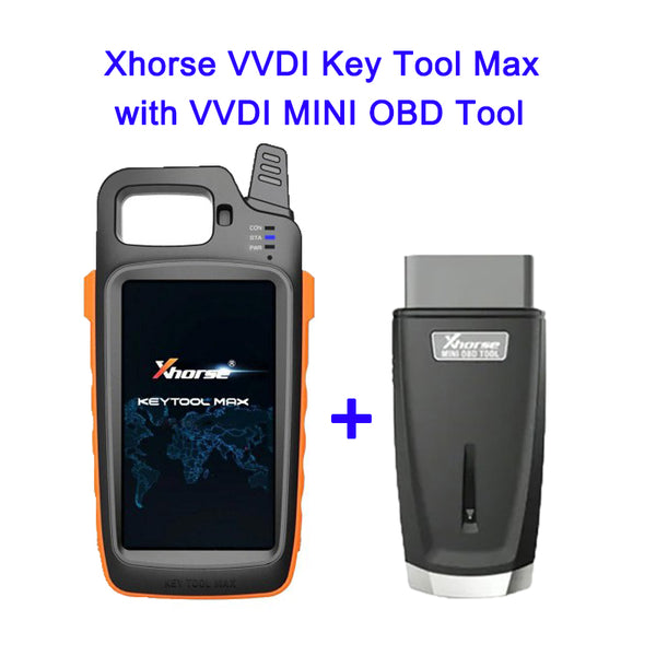 Xhorse VVDI Key Tool Max with VVDI MINI OBD Tool - VXDAS Official Store