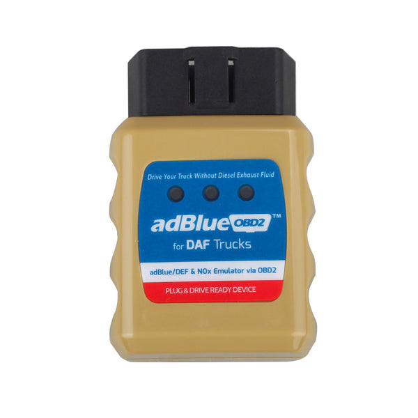 AdblueOBD2 Emulator For DAF/Renault/Ford/Benz/Iveco/Volvo/Scania/MAN Trucks Plug And Drive Ready Device By OBD2 - VXDAS Official Store