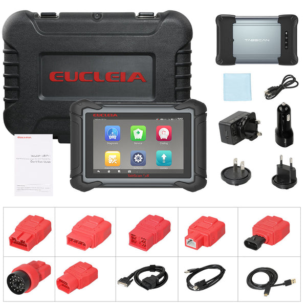 EUCLEIA TabScan S8 Pro Automotive Intelligent Dual-mode Diagnostic System Free Update Online - VXDAS Official Store