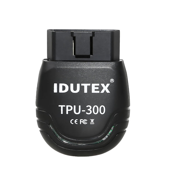IDUTEX TPU300 Passenger Cars & Commercial Vehicle OBD2 Scanner Supports Android - VXDAS Official Store