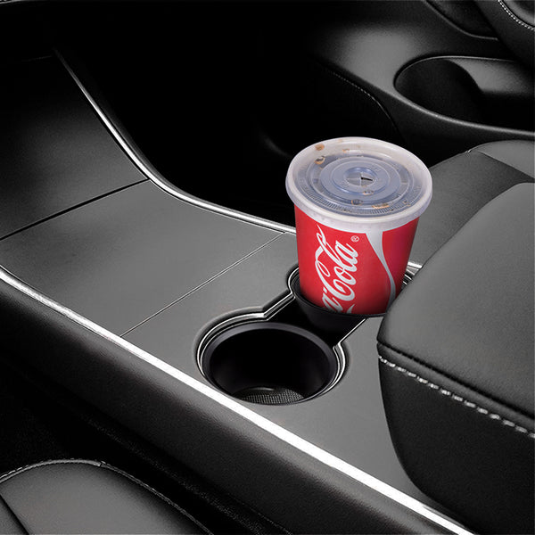 Xpander Black Water Cup Organizer Holder Adapter For Tesla Model 3 Accessories 2pcs - VXDAS Official Store