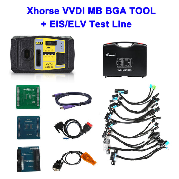 Xhorse VVDI MB TOOL BGA Key Programmer Work with EIS/ELV Test Line for Benz - VXDAS Official Store