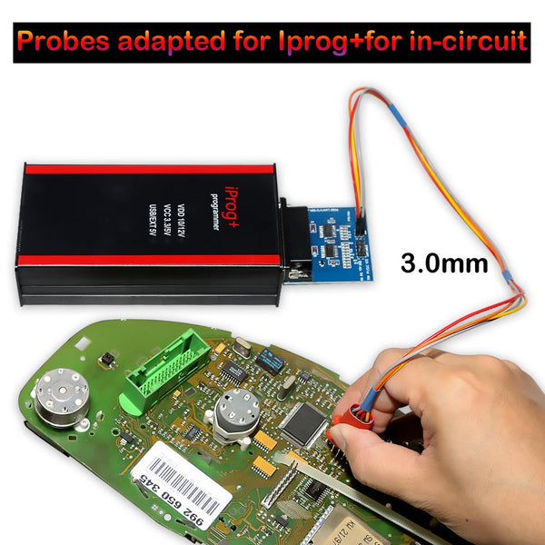 Probes Adapters for V84 Iprog+ Pro or Xprog Programmer in-circuit - VXDAS Official Store