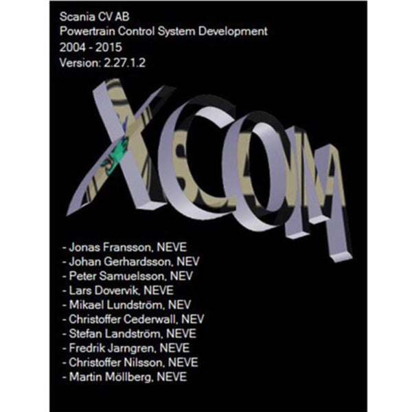 Developer Software (XCOM-SOPS-Scania SDP3-BNS II) for Scania Support Win XP/Vista/7/8 - VXDAS Official Store