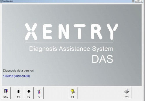 Star Diagnosis MB Star C3 V2016.12 DAS Xentry Software HDD with Multi-Language - VXDAS Official Store