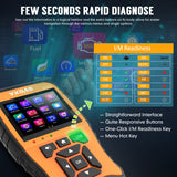 VXDAS NT510 Full System Car Diagnostic Tool Supports All OBD2 Functions support Multi Language - VXDAS Official Store