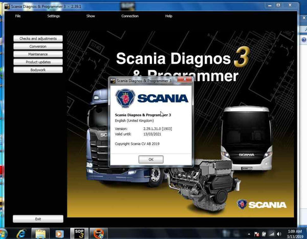 VCI 3 Scanner WIFI Trucks Diagnostic Tool with SDP3 2.40.1 software for Scania Diagnosis & Programming - VXDAS Official Store