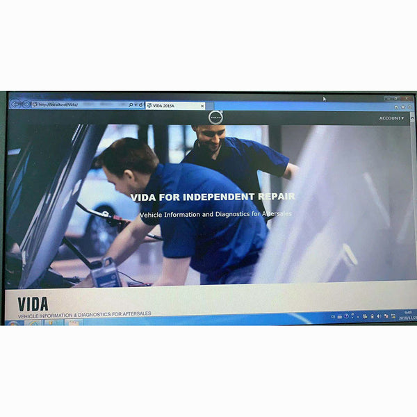 Vida Dice 2015A Software for Volvo 1999-2017 Troubleshooting USB Key No Need Activation - VXDAS Official Store