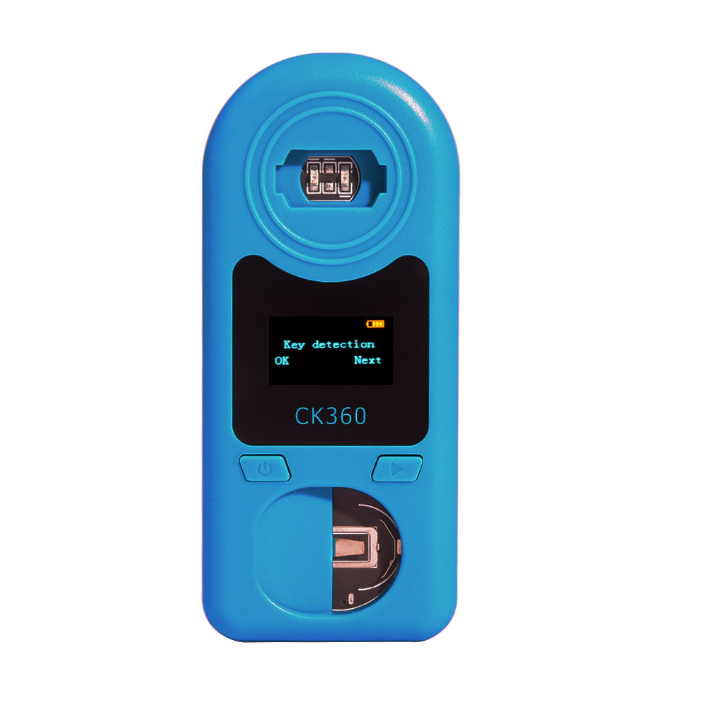 CK360 Easy Check Remote Control Remote Key Tester for Frequency 315Mhz-868Mhz & Key Chip & Battery 3 in 1