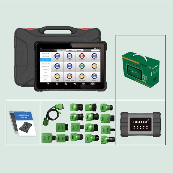 IDUTEX TS910 PRO Heavy Duty Vehicles Smart Diagnostic Platform Free Shipping By DHL - VXDAS Official Store