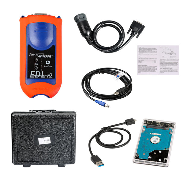Deere Service Advisor EDL V2 For John Diagnostic Kit Truck Scanner Tool - VXDAS Official Store