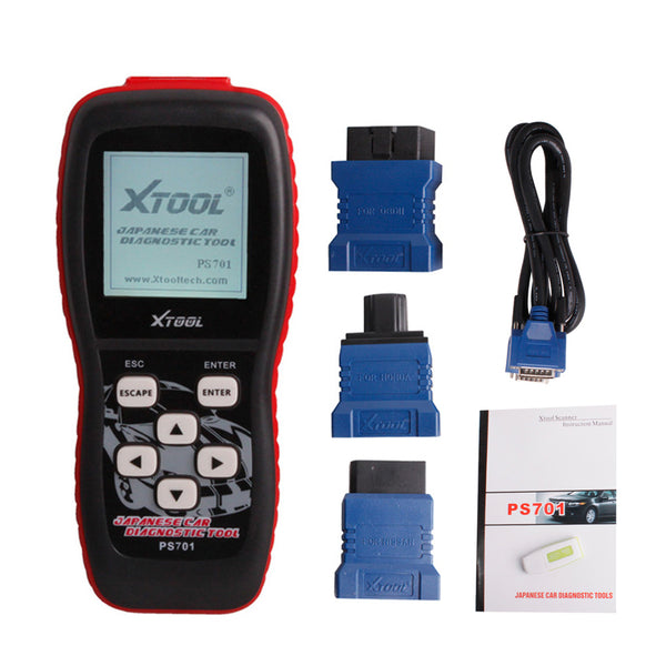 PS701 JP Scanner Professional Japanese Car Diagnostic Tool for Toyota Suzuki Nissan - VXDAS Official Store