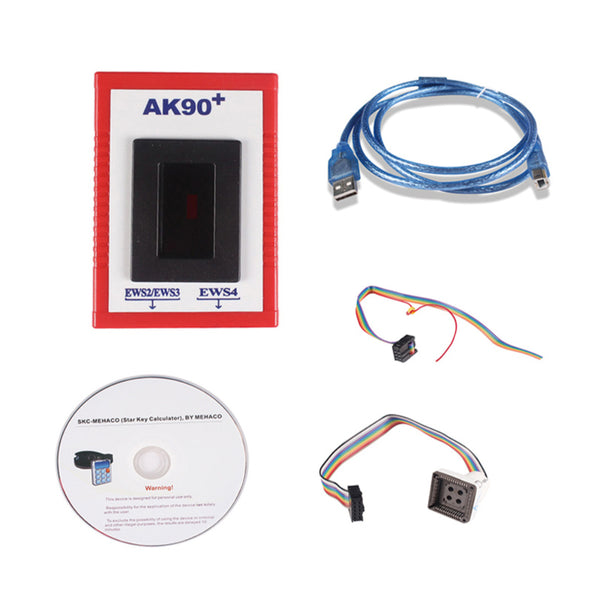 BMW AK90+ II Key Programmer for All BMW EWS Newest Version V3.19 Programming - VXDAS Official Store