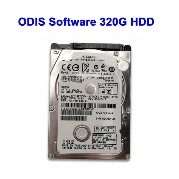 ODIS 5.2.6 VW Audi Elsawin 6.0 Vag ETKA 8.0 ODIS Engineer Software V11.0 Iinstalled In HDD/ SSD