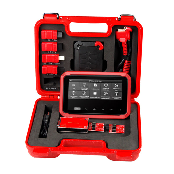 Original XTOOL X100 PAD Tablet Key Programmer with EEPROM Adapter Support Special Function EPB/TPS/Oil/Throttle Body/DPF Reset X-100 PAD - VXDAS Official Store