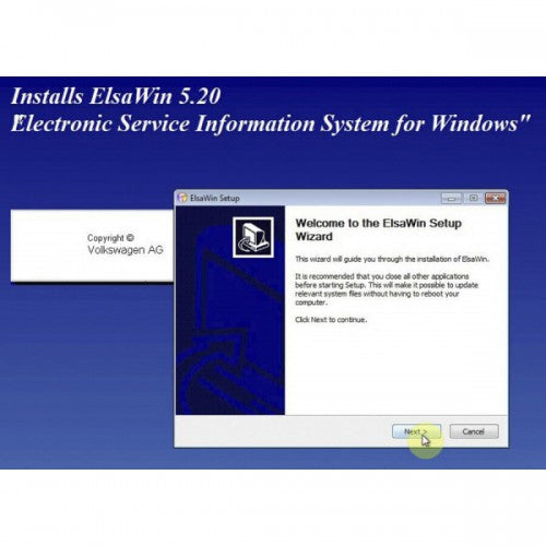 ELSAWIN 6.0 Electronic Service Information for Audi-VW Support Multi-Language - VXDAS Official Store
