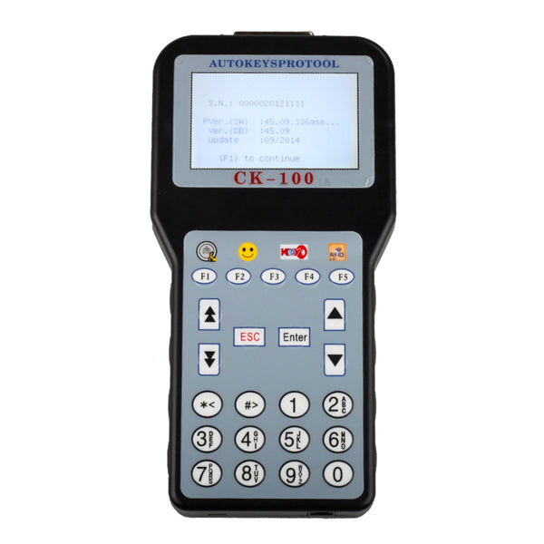 CK100 V45.09 Auto Key Programmer Support Vehicle Till 2014.09 with 1024 Token with Multi-languages - VXDAS Official Store