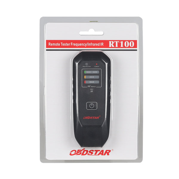 RT100 Remote Tester Frequency Infrared (IR) Fits 300Mhz/320M/434Mhz/868Mhz Detect Frequency - VXDAS Official Store