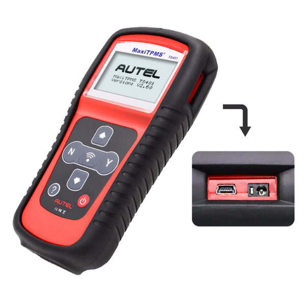 Autel MaxiTPMS TS401 Tire Pressure Sensor TPMS Diagnostic and Service Tool Code Readers Scan Tools - VXDAS Official Store