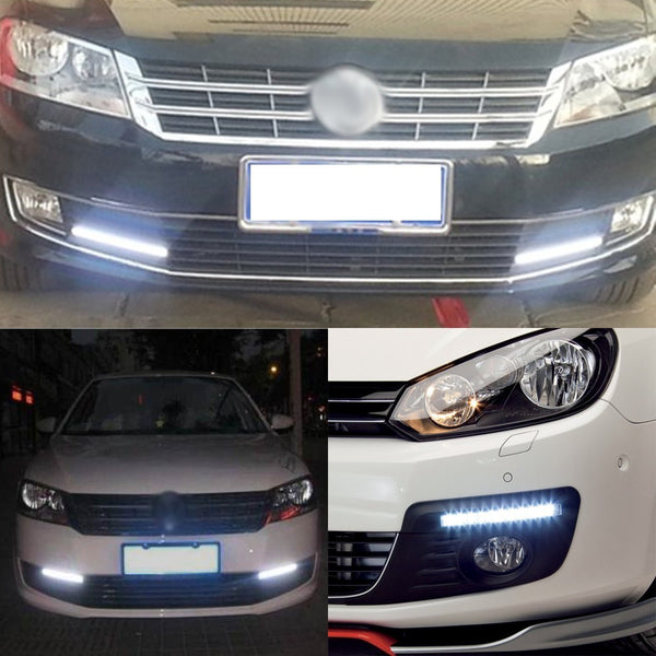 LED Driving Lights 17cm COB DRL LED Driving Lights Car External Auto Waterproof Styling Lamp for Audi - VXDAS Official Store