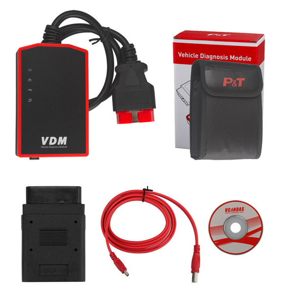VDM UCANDAS Wireless Automotive Diagnosis System V3.9 VDM with Honda Adapter Support Andriod - VXDAS Official Store